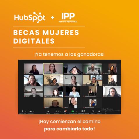 Becas Mujeres Digitales